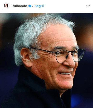 Ranieri al Fulham