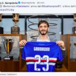 Gabbiadini alla Sampdoria