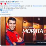 Morata all Atletico Madrid