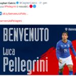 Pellegrini al Cagliari
