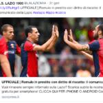 Romulo alla Lazio