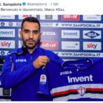 Sau alla Sampdoria