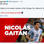 Gaitan al chicago fire