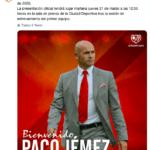 jemez allenatore rayo vallecano