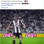Rugani rinnova con la Juventus