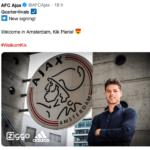 Ajax preso kik Pierie