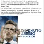 Di Francesco nuovo allenatore della Sampdoria