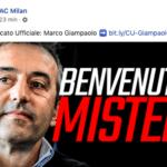 Giampaolo nuovo allenatore del Milan