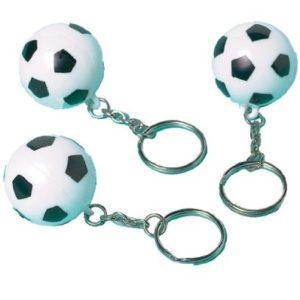 amscan  12 Portachiavi con Pallone da Calcio