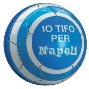 Mondo 13687   Pallone di Cuoio da Calcio Misura 5 Io Tifo Napoli